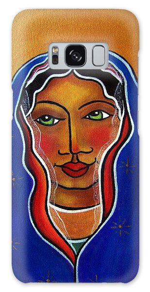 Galaxy Case featuring the painting Ave Maria by Jan Oliver-Schultz