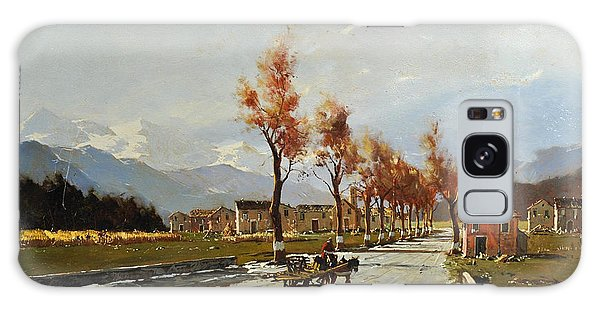 Galaxy Case featuring the painting Avellino's Landscape  by Rosario Piazza