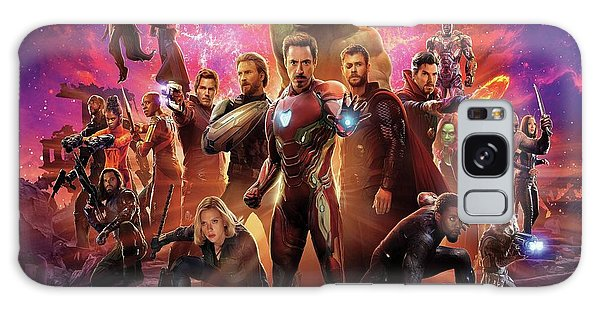 Avengers Infinity War Galaxy Case