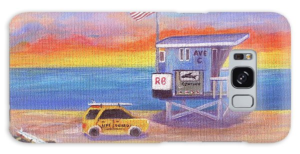 Galaxy Case featuring the painting Avenue C by Jamie Frier