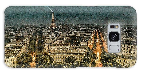 Paris, France - Avenue Kleber Galaxy Case