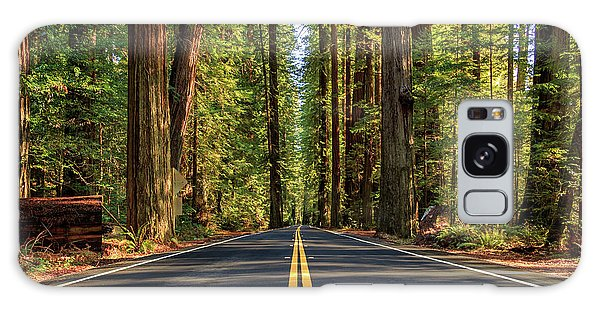 Galaxy Case featuring the photograph Avenue Of The Giants by James Eddy