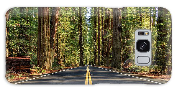 Avenue Of The Giants Galaxy Case by James Eddy