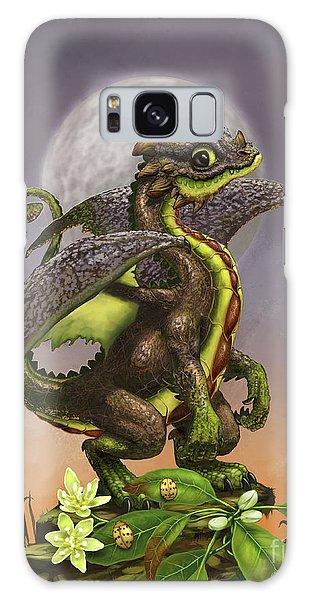 Avocado Dragon Galaxy Case by Stanley Morrison