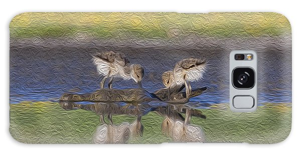 Avocet Babies Galaxy Case