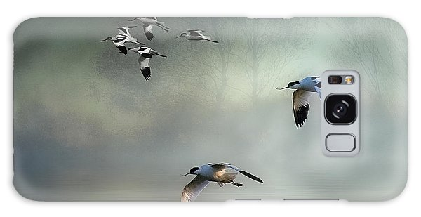 Avocet Dawn Galaxy Case by Brian Tarr