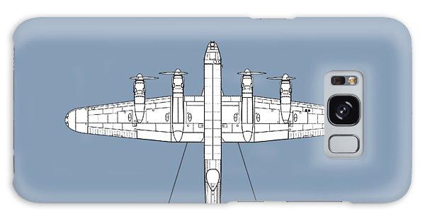 Bomber Galaxy Case - Avro Lancaster by Mark Rogan
