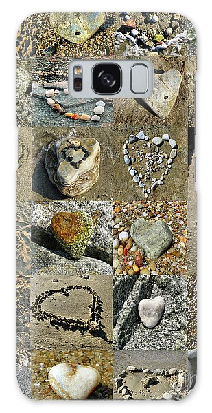 Awesome Hearts Found In Nature - Valentine S Day Galaxy Case