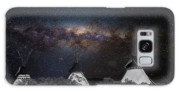 Awesome Skies Galaxy Case by Carolyn Dalessandro