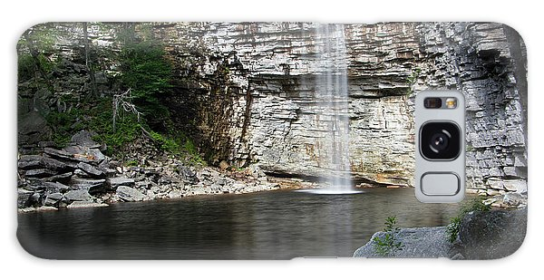 Awosting Falls In July II Galaxy Case