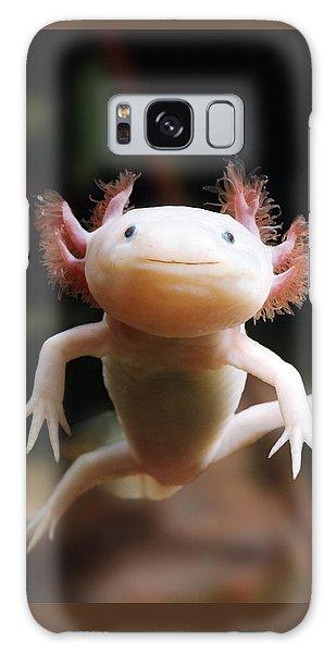 Axolotl Face Galaxy Case