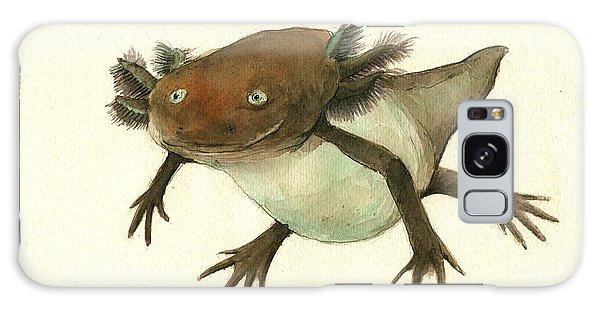 Axolotl Galaxy Case