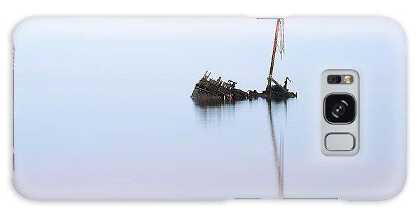 Ayrshire Shipwreck In Sunrise Ref3342 Galaxy Case