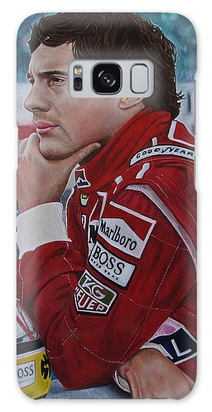 Ayrton Senna Galaxy Case