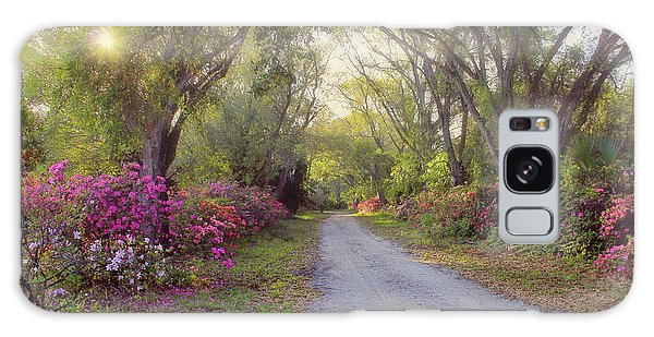 Azalea Lane By H H Photography Of Florida Galaxy Case