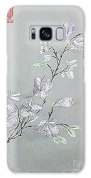 Azaleas Blooming Galaxy Case
