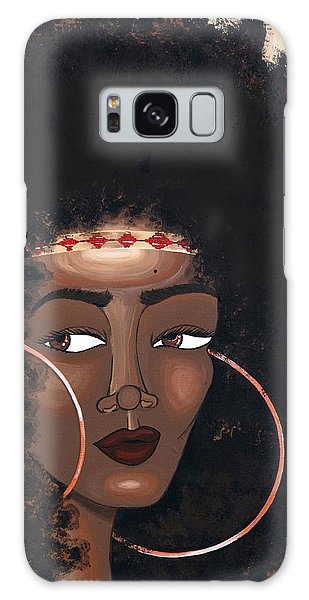 Galaxy Case featuring the painting Azima by Aliya Michelle