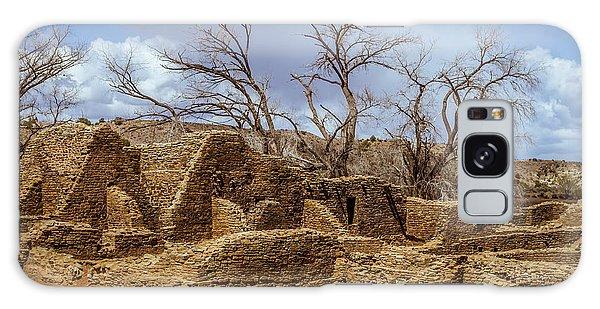 Aztec Ruins, New Mexico Galaxy Case