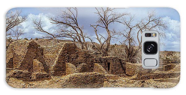 Aztec Ruins, New Mexico Galaxy Case