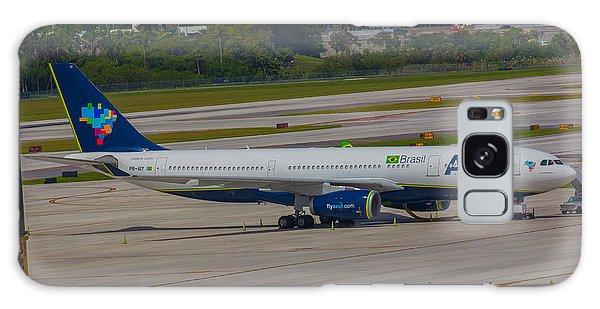 Azul Barzillian Airline Galaxy Case