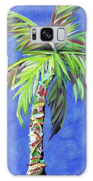 Azul Palm Galaxy Case