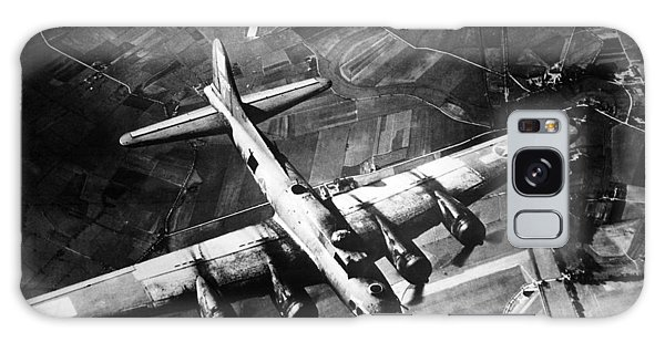 B-17 Bomber Over Germany  Galaxy Case