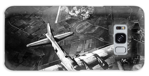 Airplanes Galaxy Case - B-17 Bomber Over Germany  by War Is Hell Store