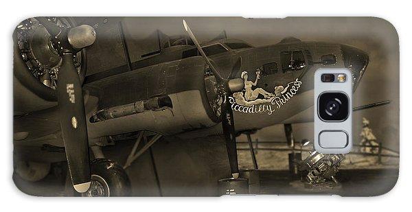 Bomber Galaxy Case - B - 17 Field Maintenance  by Mike McGlothlen
