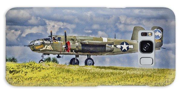 B-25 Landing Akron/canton Ohio Galaxy Case