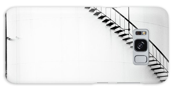 B And W Stairs Galaxy Case