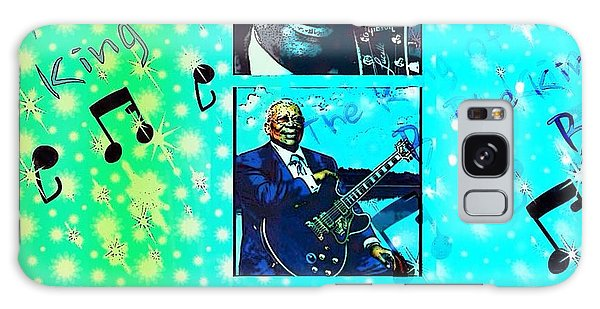 B B King Of The Blues  Galaxy Case