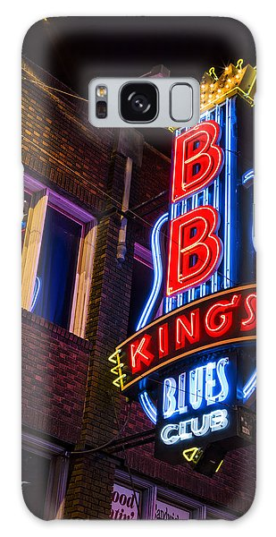 B B Kings On Beale Street Galaxy Case