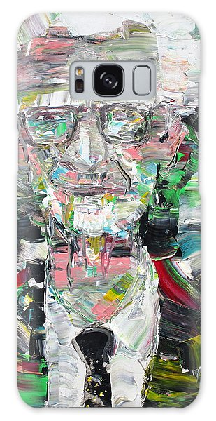 B. F. Skinner Portrait Galaxy Case