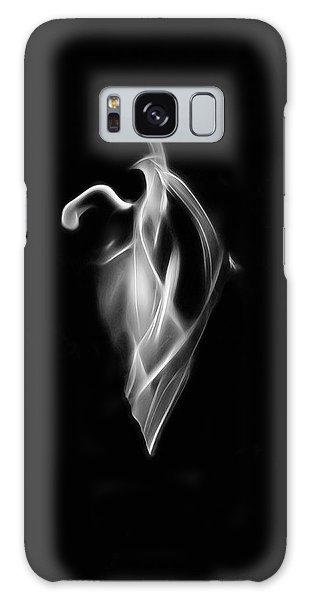 B/w Flame 7092 Galaxy Case