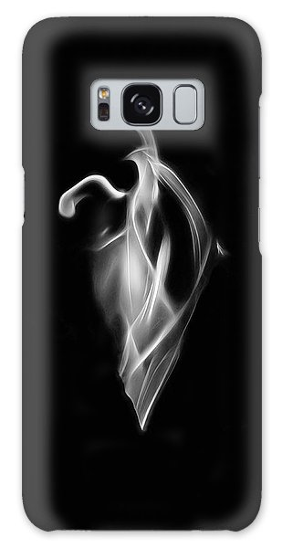 B/w Flame 7092 Galaxy Case