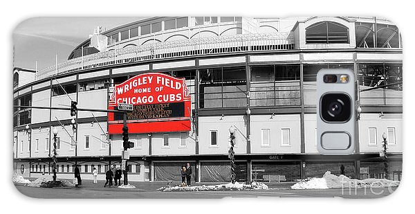 Grant Park Galaxy Case - B-w Wrigley 100 Years Young by David Bearden