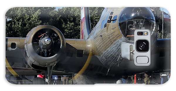 Galaxy Case featuring the photograph B17 Flying Fortress Taxiing by John King