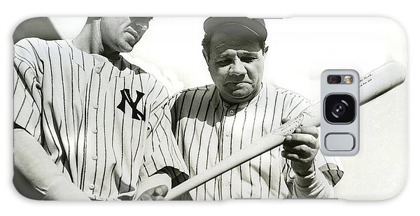 Babe Ruth And Lou Gehrig Galaxy Case