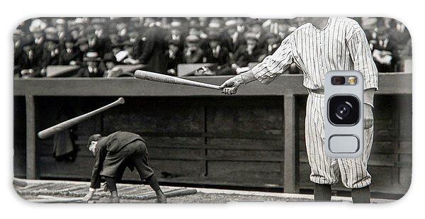 Babe Ruth At Bat Galaxy Case