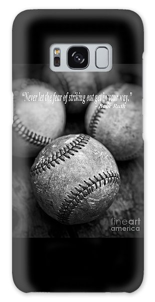 Babe Ruth Quote Galaxy Case