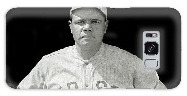 Babe Ruth Red Sox Galaxy Case