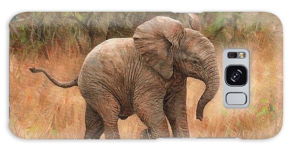 Baby African Elelphant Galaxy Case