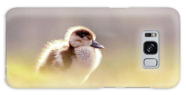 Gosling Galaxy Case - Baby Animals Series - Zen Gosling by Roeselien Raimond