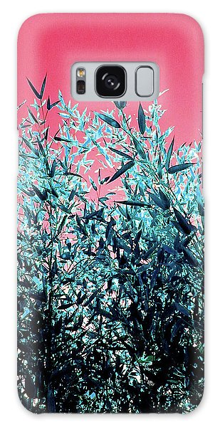 Baby Bamboo - Deep Pink And Blue Galaxy Case