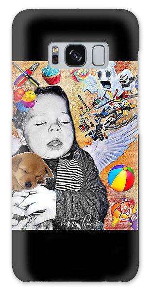 Baby Dreams Galaxy Case by Vennie Kocsis