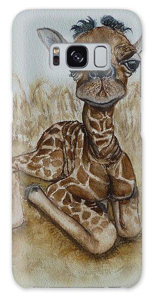 New Born Baby Giraffe Galaxy Case