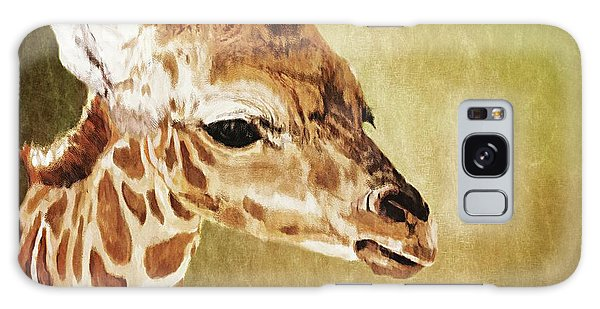 Baby Giraffe Galaxy Case