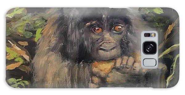 Baby Gorilla Galaxy Case