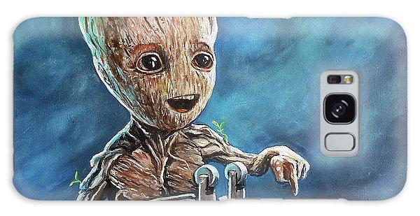 Baby Groot Galaxy Case by Tom Carlton