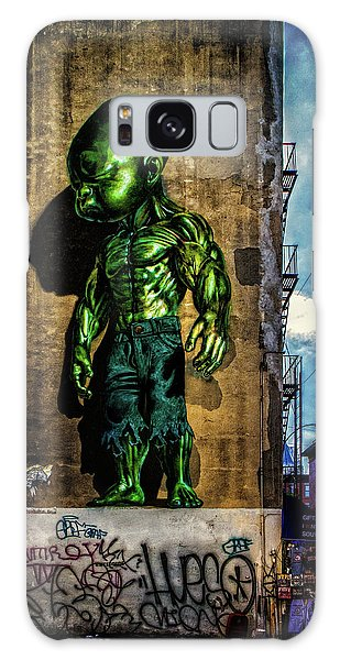 Galaxy Case featuring the photograph Baby Hulk by Chris Lord